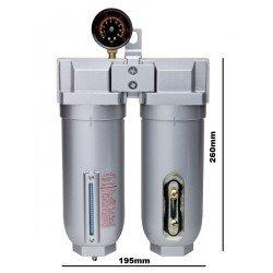 """Rockwood 1/2"""" NPT 2 Stage Air Filter Dryer System"""