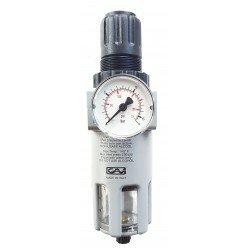GAV Air Filter Regulator 1/4 BSP - Made in Italy