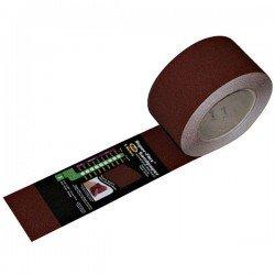 Sandpaper Super - Flex Cloth Sandpaper 120 Grit PSA Abrasive Roll 2.75 In x 9 Mtr